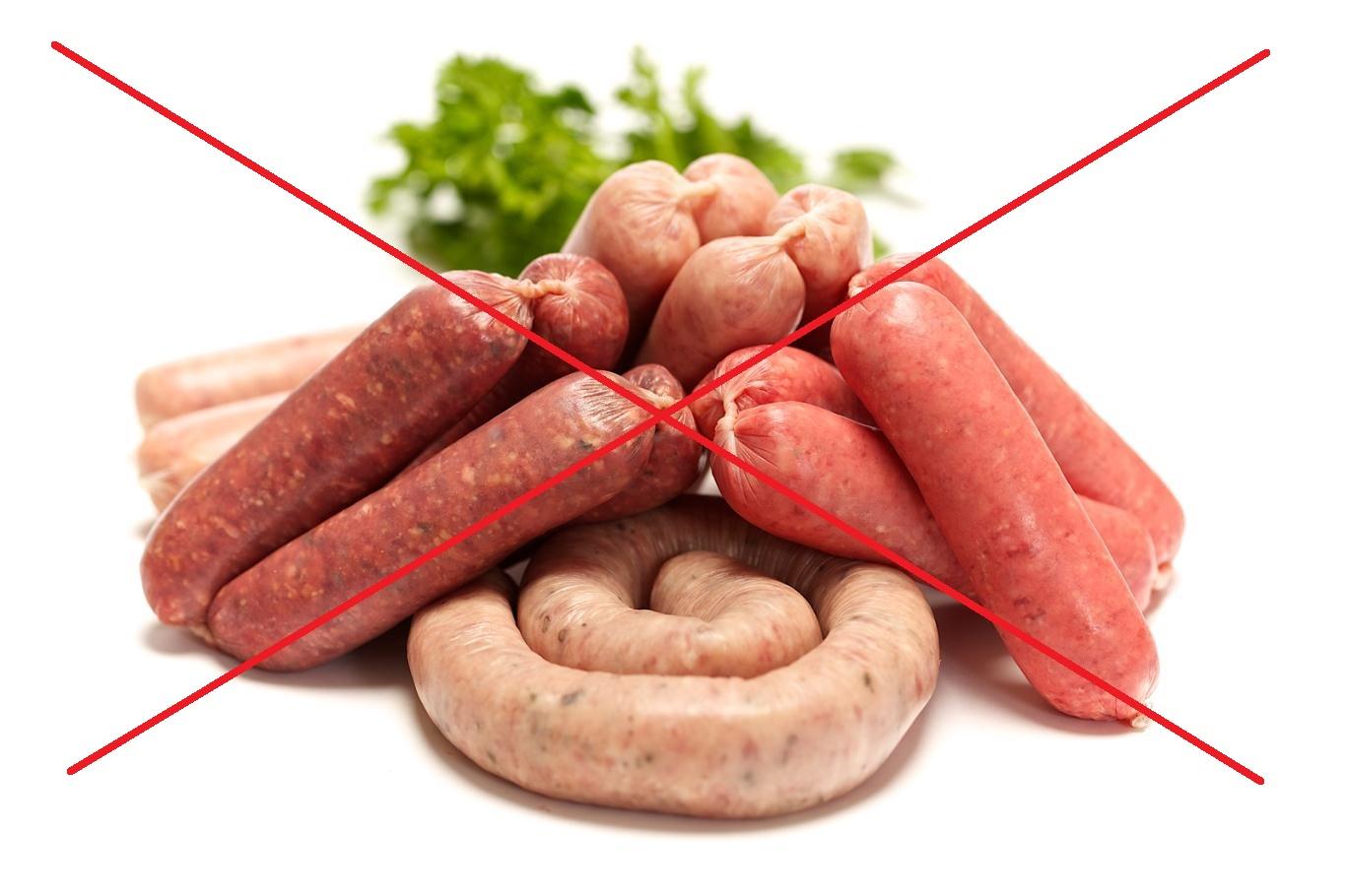 Ограничьте потребление красного мяса и полуфабрикатов